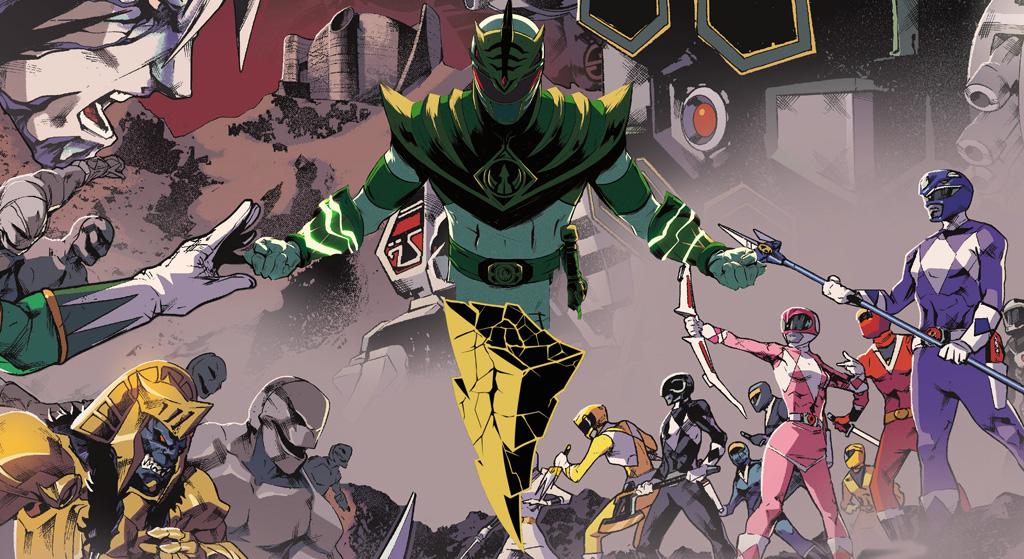 Mighty Morphin Power Rangers-juguetería-Bandai-México
