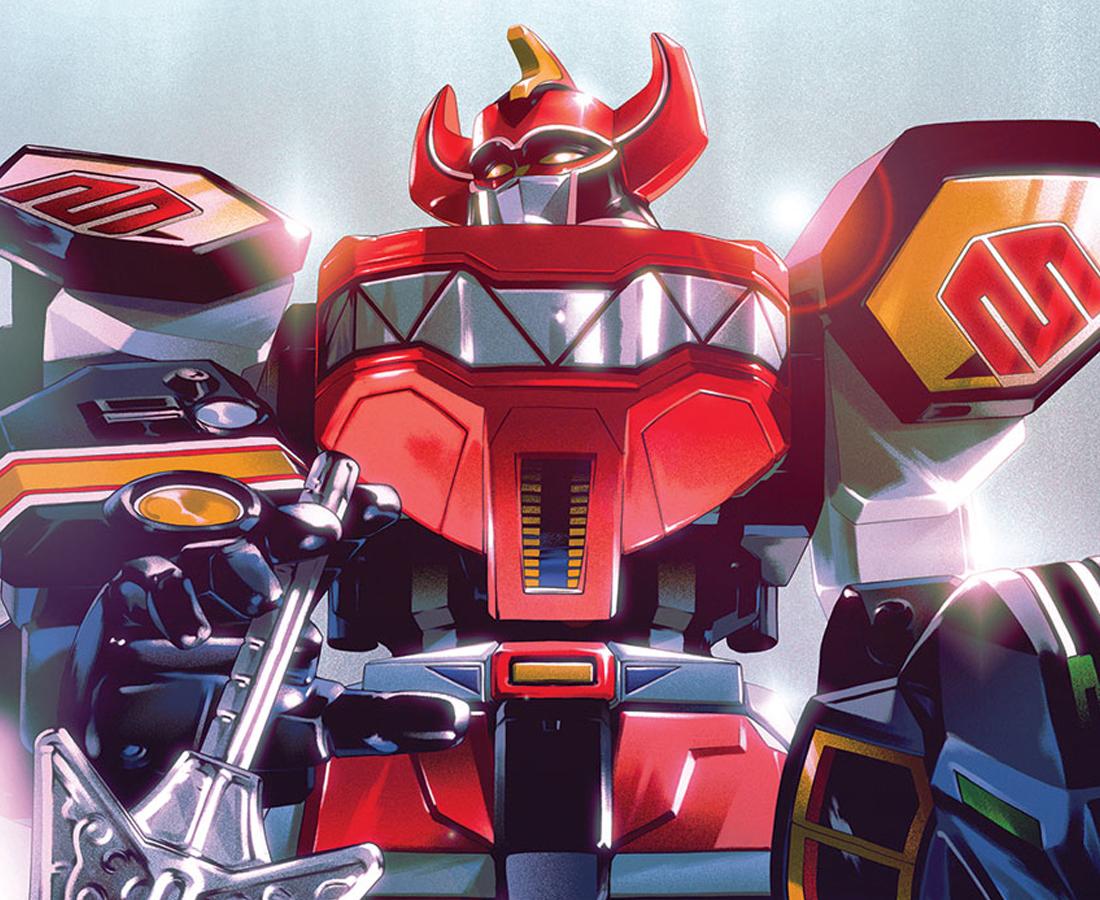 Megazord de Power Rangers-juguetería-Bandai-México