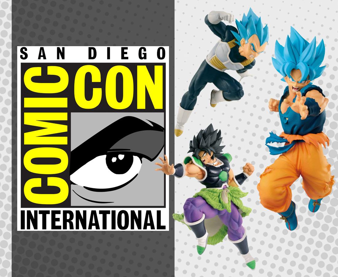 La Comic-Con Dragon Ball-juguetería-Bandai-México