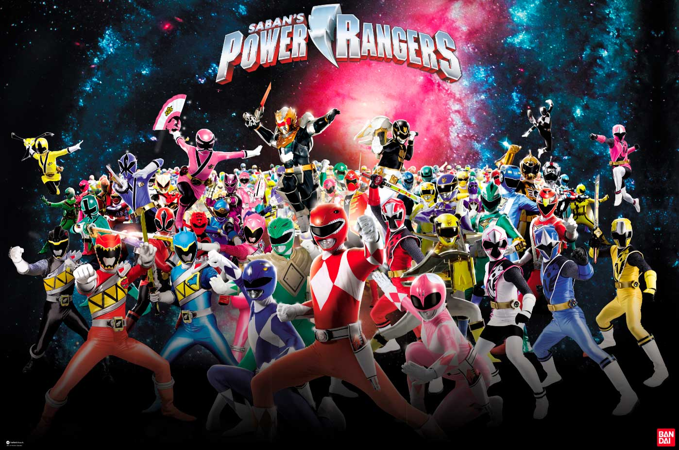 25 años de power rangers-juguetería-Bandai-México