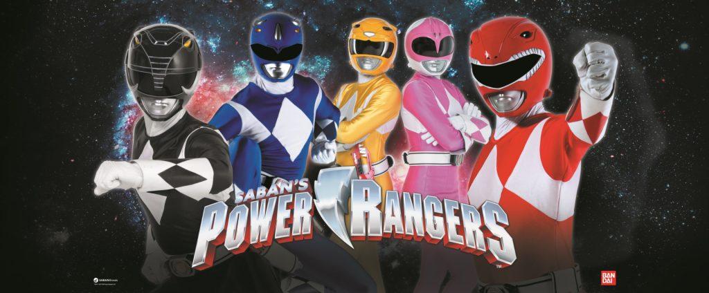 integrantes de Power Rangers-juguetería-Bandai-México