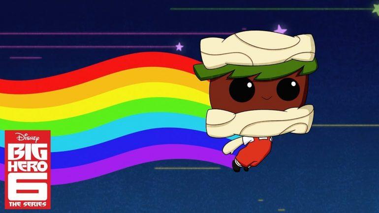 big hero 6, grandes héroes la serie, disney, juguetes para niños, juguetería Bandai México Noodle Burger Boy