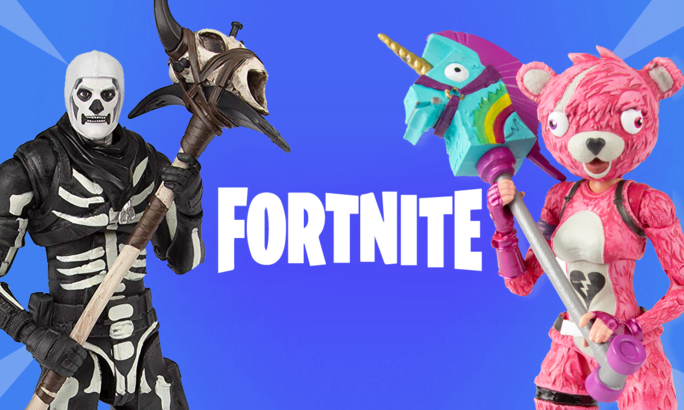 Cuddle team leader, cuddles, bandai mexico, figura articulada, fortnite, battle royale,