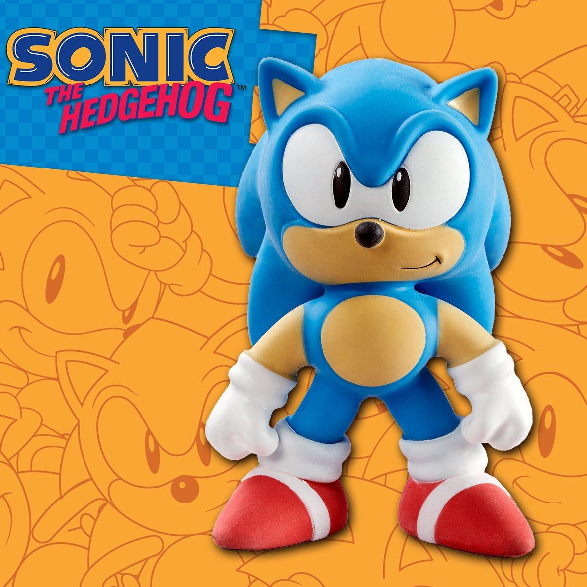 Sonic, Bandai, Bandai México, Bandai mexico, sega, sonic the hedgehog, stretch armstrong, figuras estrirables, figuras stretch armstrong, juguetes stretch armstrong, personaje retro 2019, sonic la película