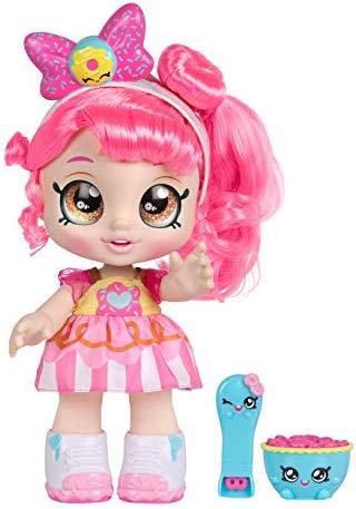 Donatina, kindi kids, muñeca para niña, shopkins, muñecas que te acompañan al preescolar