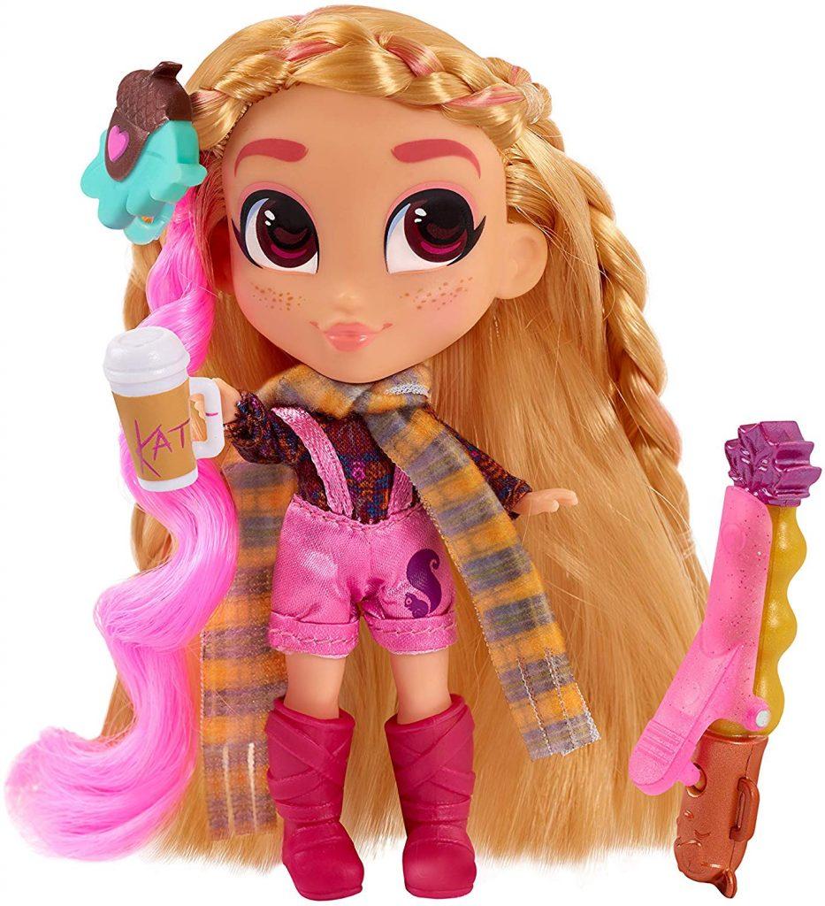 Kat, Hairdorables, Bandai Mexico, bandai, de moda, fashion doll, temporada 3, hairdorables t3, hairdorable, vloggeras, videos, coleccionar, coleccionables