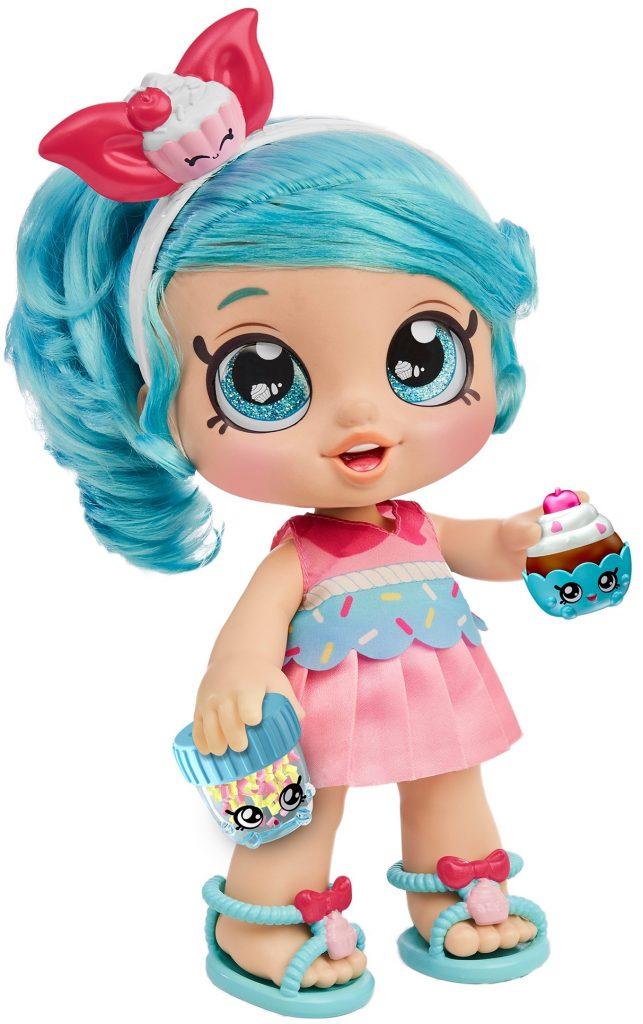 Jessicake, kindi kids, muñeca para niña, shopkins, muñecas que te acompañan al preescolar