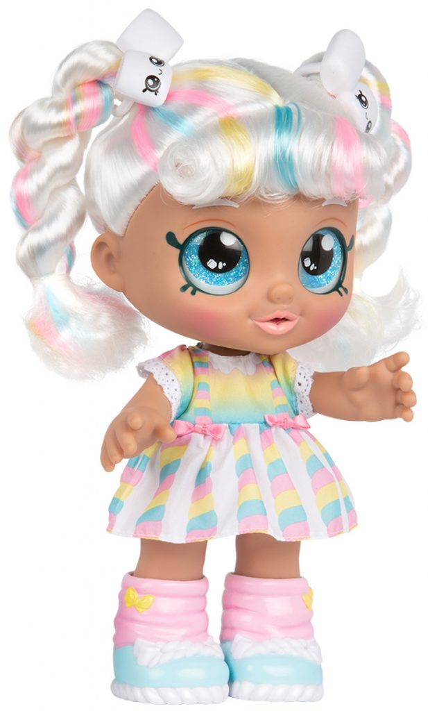 Marsha mello, kindi kids, muñeca para niña, shopkins, muñecas que te acompañan al preescolar