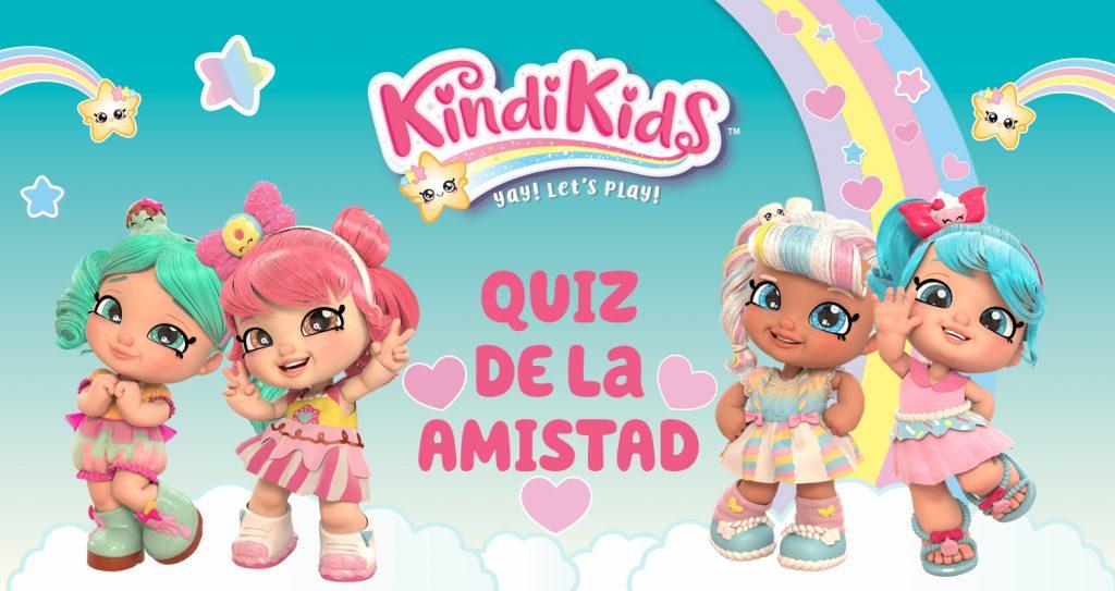 concurso para niñas, Kindi Kids, las muñecas que te acompañan al kinder, shopkins, muñecas para niña, quiz de la amistad
