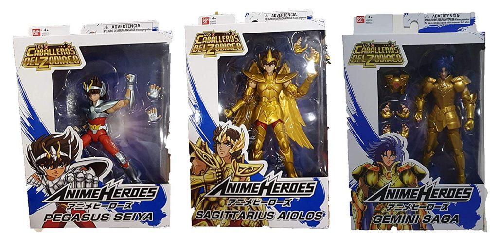 seiya, Bandai Bandai México Caballeros del Zodiaco Anime Heroes Pegasus Gemini Saga Sagittarius Aiolos Concurso caballeros del Zodiaco