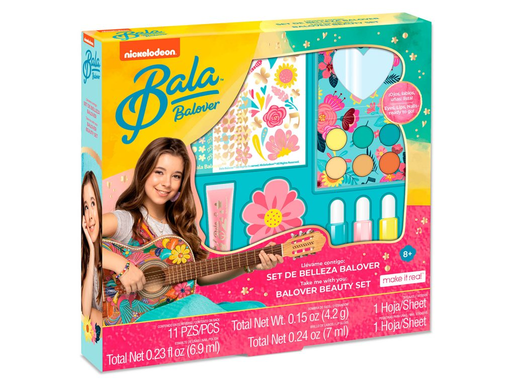 Bandai, bandai mexico, la bala, make it real, sets de juego, sets para niñas, set de joyería, set de maquillaje, set de pijamada, isabella de la torre, maria Isabela de la torre,