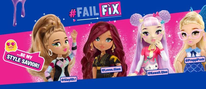 Bandai, bandai mexico, juguetes niñas, juguetes para niñas, muñecas, muñecas de juguete, fashion doll, muñecas fashion, mejores muñecas, muñecas para peinar, muñecas con maquillaje, muñecas de moda, cambio de look, muñeca cambio de imagen, las mejores muñecas, muñecas lindas, fail fix,