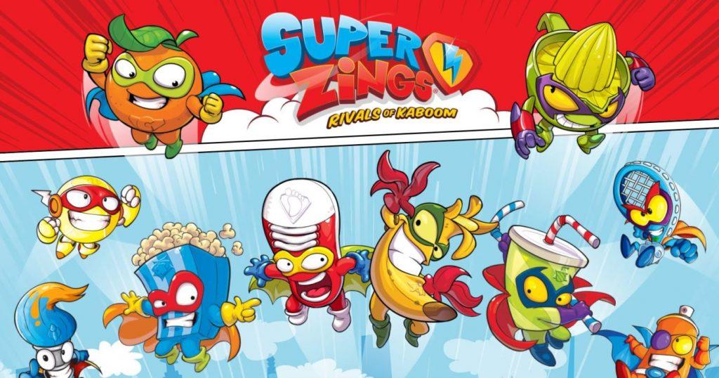 Qué son los Superzings, Cuál es el origen de los superzings, como se reconoce a los héroes y villanos, Qué es Kaboom City, Como reconocer a un Superzings, Quién es enigma, guaridas secretas