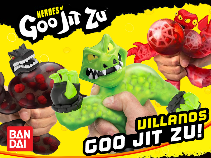 villanos mas poderosos, Goo Jit Zu, heroes de Goo Jit Zu, Goo Jit Zu heroes, figuras estirables, muñecos apachurrables, muñecos de moda, juguetes estirables, Goo Jit Zu dc comics, Goo Jit Zu dc, batman estirable, batman apachurrable,