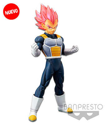 Banpresto Vegeta Super Saiyan Nivel Dios