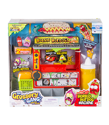Grossery Gang Temporada 2 Hot Dog Playset