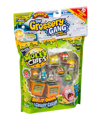 Grossery Gang Temporada 2 Moldy Chips