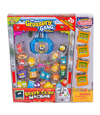 Grossery Gang Temporada 2 Rusty Claw Machine