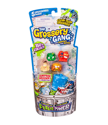 Grossery Gang Temporada 3 5 Pack