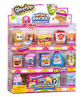Shopkins Temporada 10 8 Mini Pack