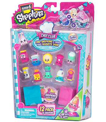 Shopkins Temporada 6 12 Pack