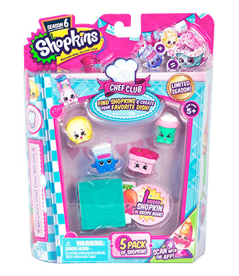 Shopkins Temporada 6 5 Pack