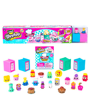 Shopkins Temporada 6 Mega Pack
