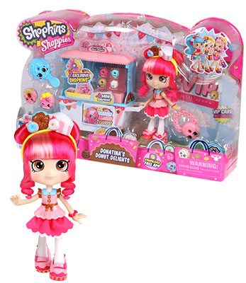 Shoppies Playset Donatina