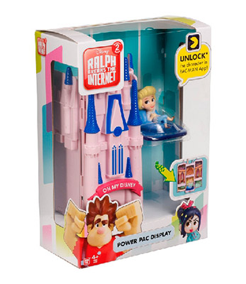 WiFi Ralph set mini figura